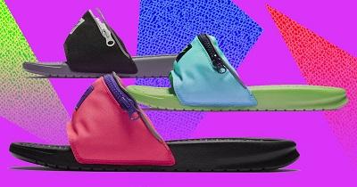 La slipper Nike con marsupio: quando l'uncool diventa cool
