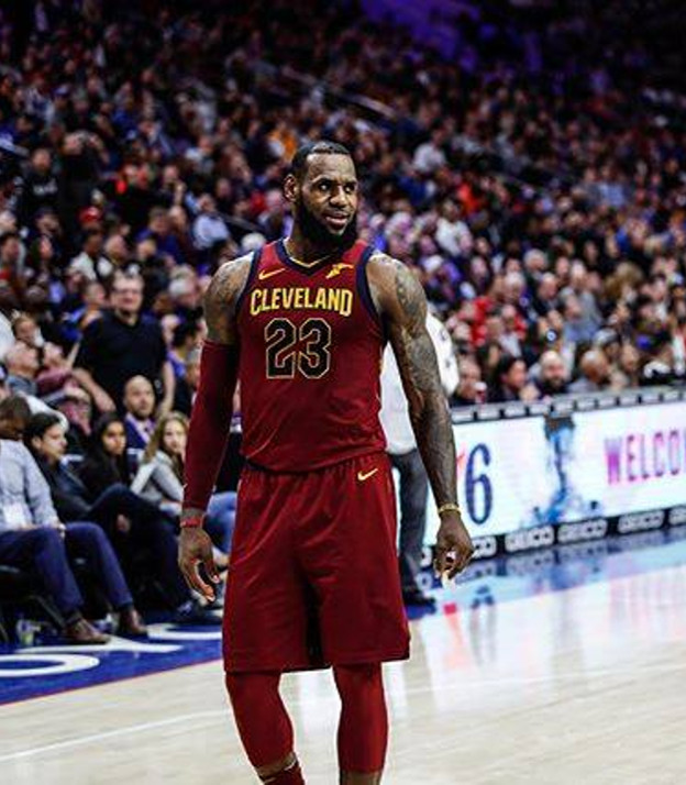 LeBron, CR7, Federer e il marketing dell'azione