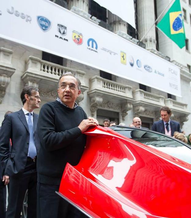 Sergio Marchionne, il maglione anticonformista