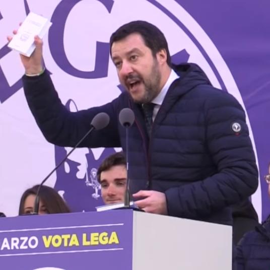 """Lasciate che i bambini vengano a me"": i social e l'""ascesa"" di Salvini"