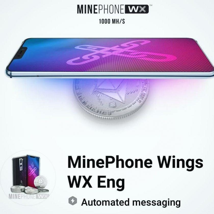 """MinePhone, il nuovo dispositivo che """"genera"""" ricchezza"""